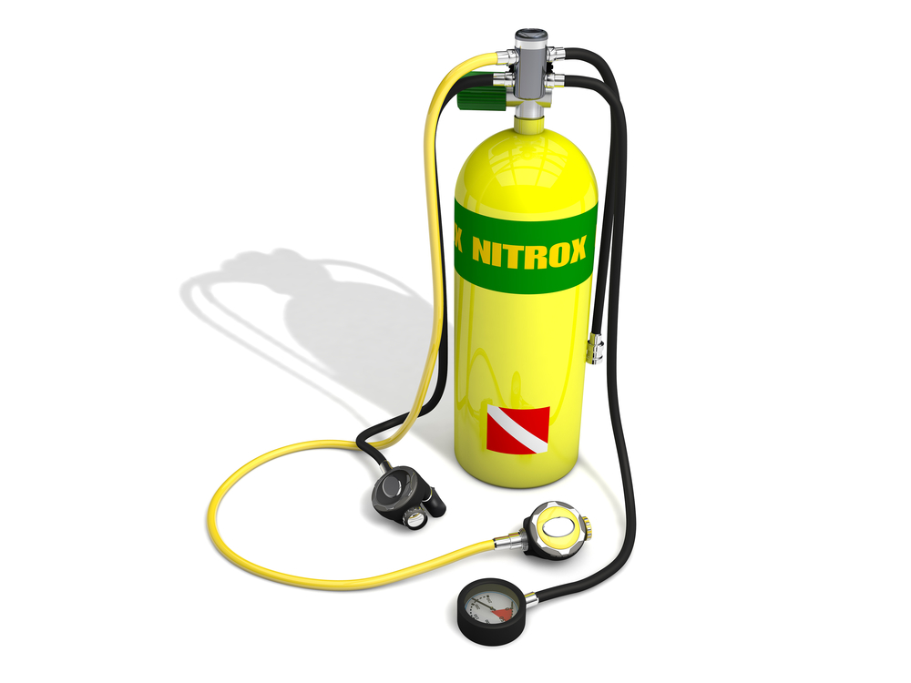 Enriched Air Nitrox Oxygen Tank